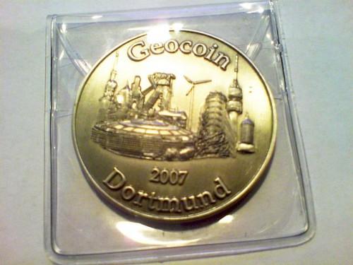Dortmund 2007 Geocoin